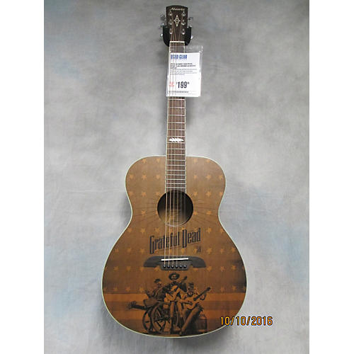 Alvarez Grateful Dead Flag Acoustic Guitar