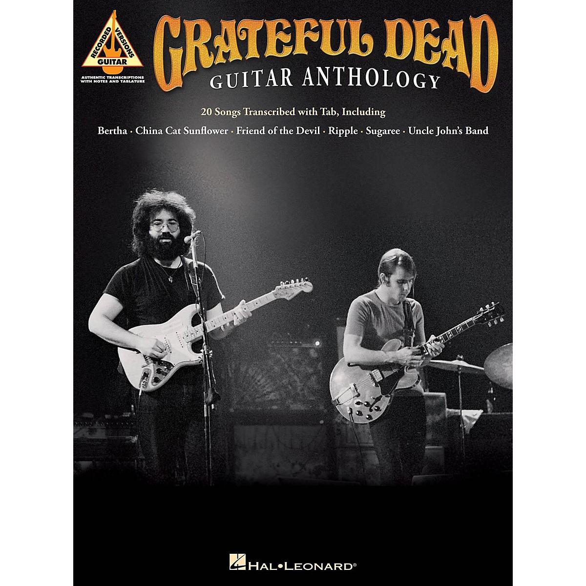 Hal Leonard Grateful Dead Guitar Anthology Guitar Tab Songbook