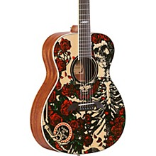 Grateful Dead OM Acoustic Guitar Roses