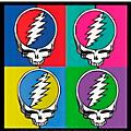 C&D Visionary Grateful Dead SYF 4 Square Sticker thumbnail