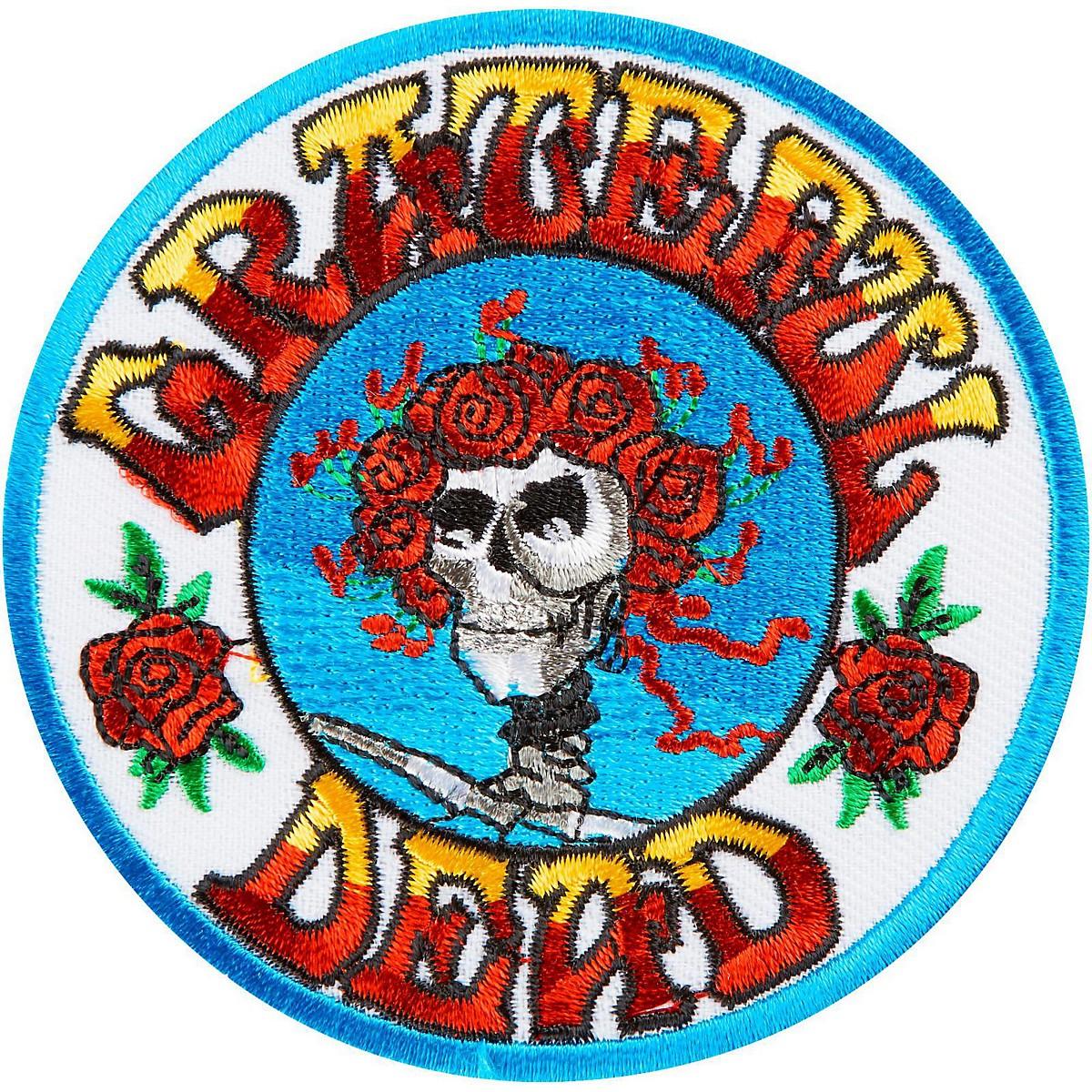 C&D Visionary Grateful Dead Skull & Roses Patch