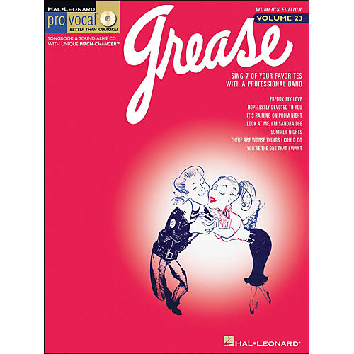 Hal Leonard Grease - Pro Vocal Series Women's Edition Volume 23 Book/CD