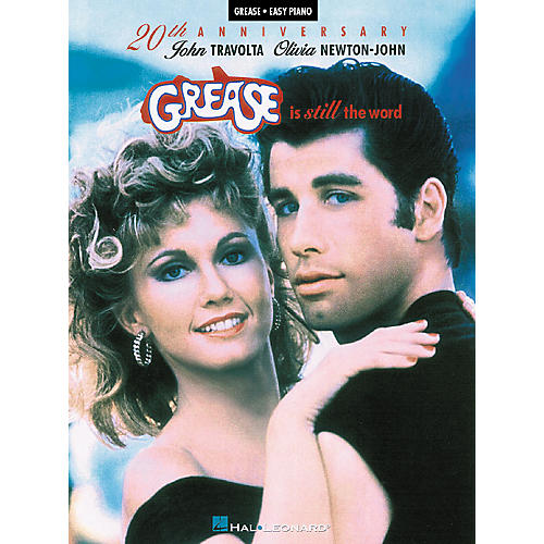 Hal Leonard Grease Is Still The Word - 20Th Anniversary For Easy Piano
