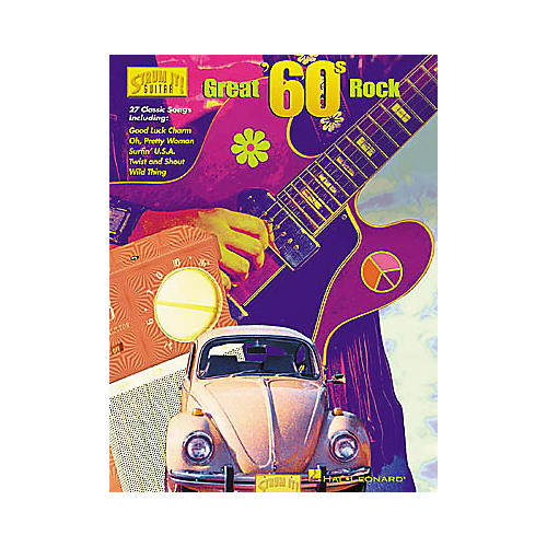 Hal Leonard Great 60's Rock Strum It Guitar Book
