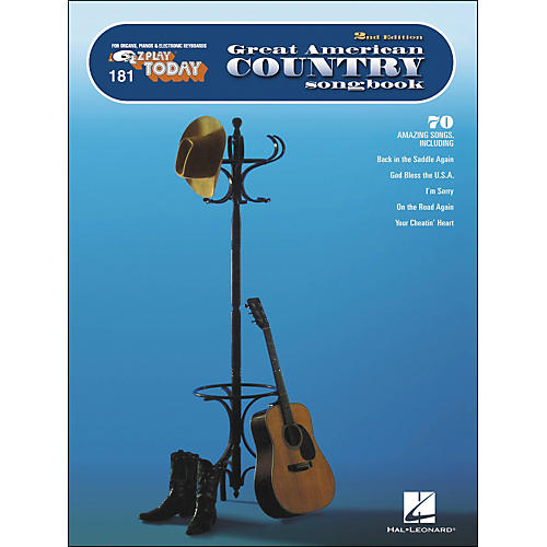 Hal Leonard Great American Country Songbook E-Z Play 181