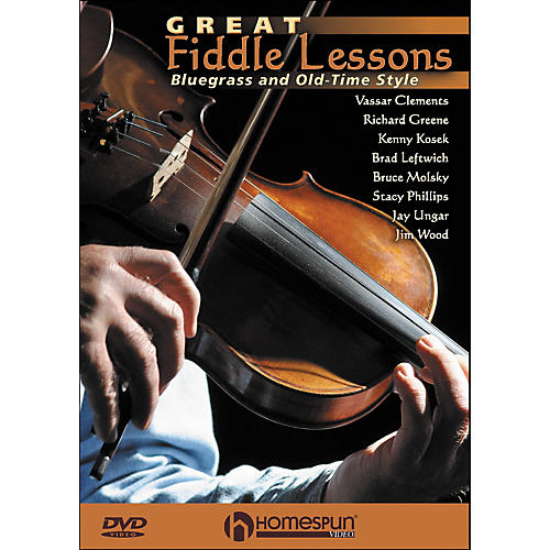 Homespun Great Fiddle Lessons: Bluegrass And Old-Time Styles DVD