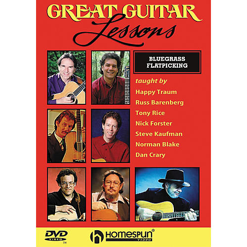 Homespun Great Guitar Lessons - Bluegrass Flatpicking (DVD)