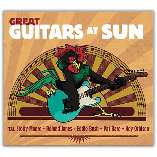 MVD Great Guitars At Sun CD