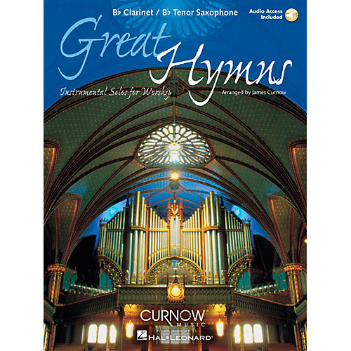 Curnow Music Great Hymns (Bb Clarinet/Bb Tenor Saxophone - Grade 3-4) Concert Band Level 3-4