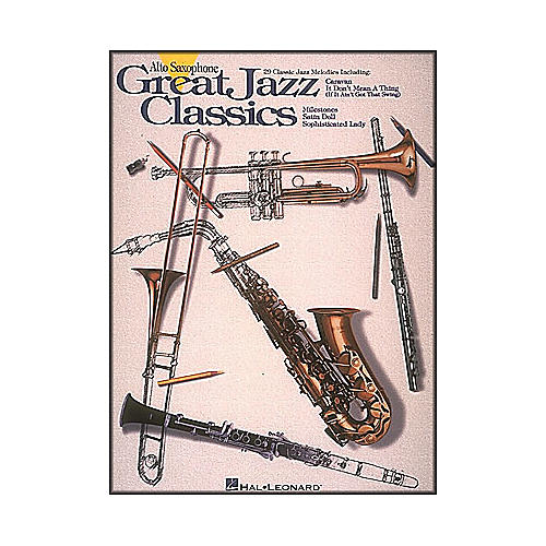 Hal Leonard Great Jazz Classics for Alto Sax