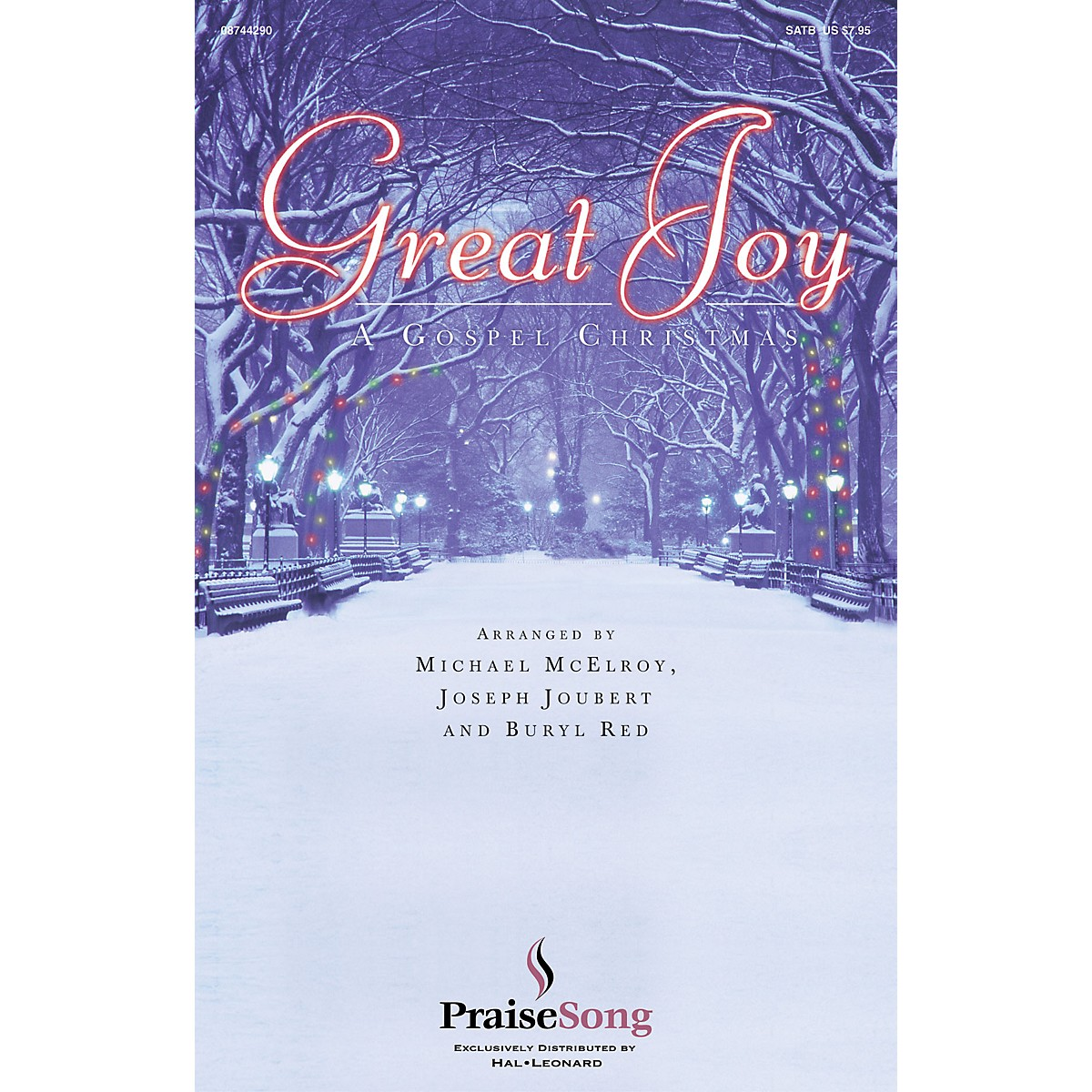 PraiseSong Great Joy SATB arranged by Buryl Red