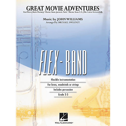 Hal Leonard Great Movie Adventures Flex-Band Series (Book)