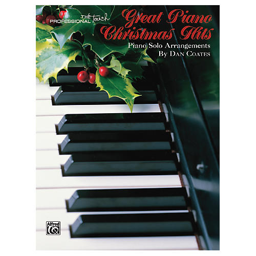 Alfred Great Piano Christmas Hits Advanced Piano Book