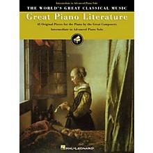 Hal Leonard Great Piano Literature World's Greatest Classical Music Series (Intermediate)