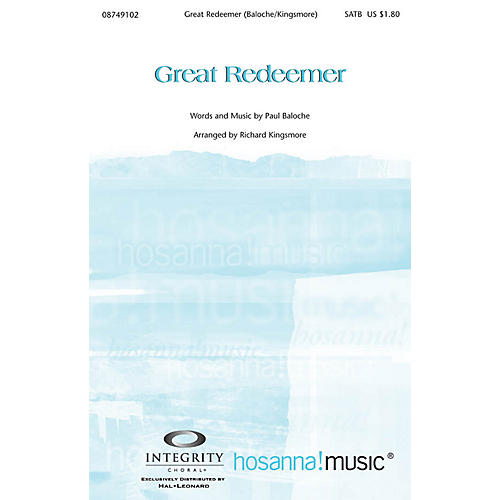 Integrity Music Great Redeemer Orchestra Arranged by Richard Kingsmore