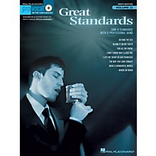 Hal Leonard Great Standards (Pro Vocal Men's Edition Volume 22) Pro Vocal Series Softcover with CD by Various