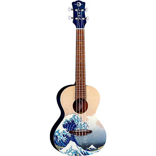 Luna Guitars Great Wave Tenor Ukulele