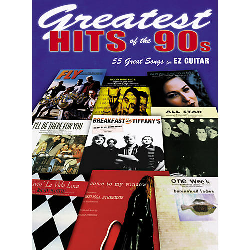 Alfred Greatest Hits of the 90s (Easy Guitar)