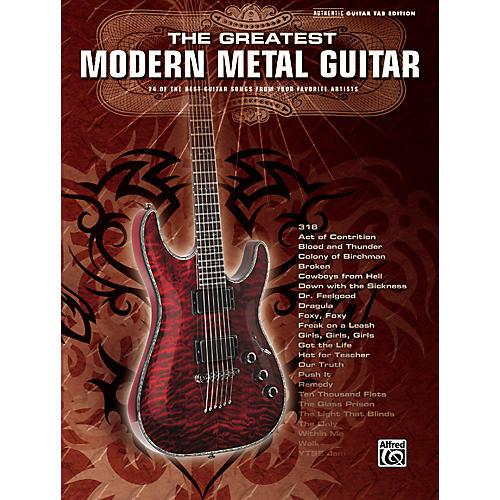 Alfred Greatest Modern Metal Guitar