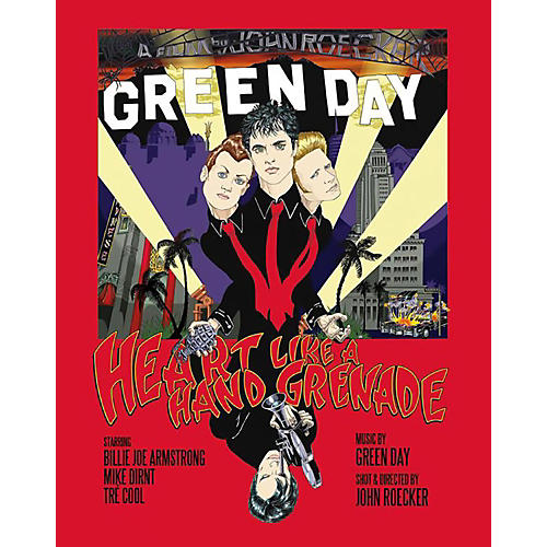 WEA Green Day Heart Like a Handgrenade DVD