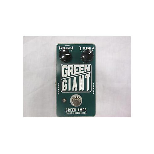 Greer Amplification Green Giant Pedal