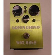 Way Huge Electronics Green Rhino Effect Pedal