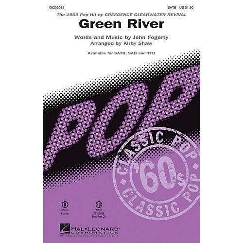 Hal Leonard Green River TTB by Creedence Clearwater Revival Arranged by Kirby Shaw