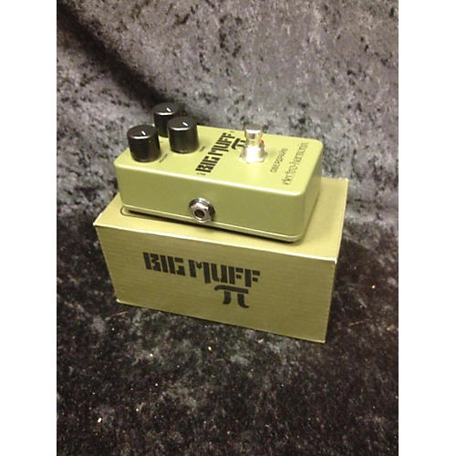 used electro harmonix green russian big muff pi fuzz effect pedal guitar center. Black Bedroom Furniture Sets. Home Design Ideas