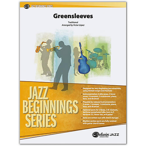 BELWIN Greensleeves Conductor Score 0.5 (Very Easy)