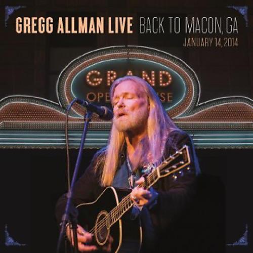 Alliance Gregg Allman - Gregg Allman Live: Back To Macon, GA