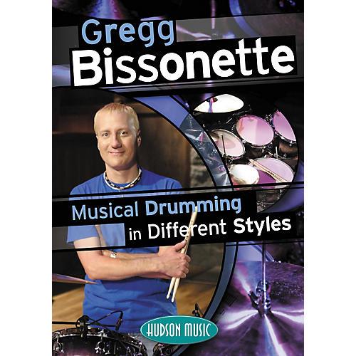 Hudson Music Gregg Bissonette Musical Drumming in Different Styles (DVD)