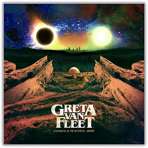 Greta Van Fleet Anthem Of The Peaceful Army Lp Guitar