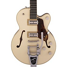 Gretsch G6659T Players Edition Broadkaster Jr. Center Block Single-Cut with String-Thru Bigsby Two-Tone Lotus/Walnut Stain