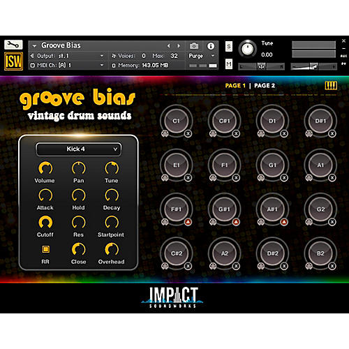 Impact Soundworks Groove Bias (Download)
