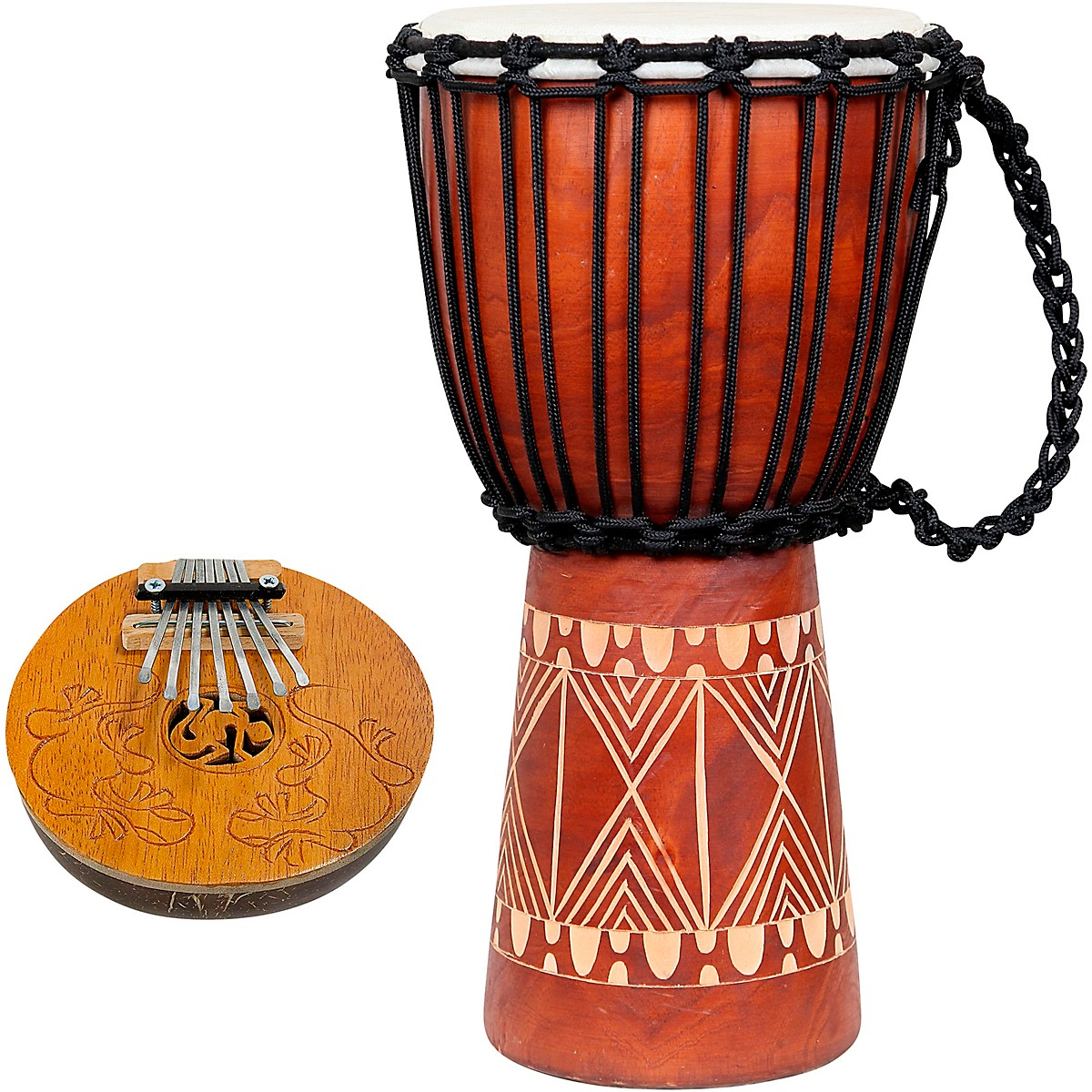 X8 Drums Groove Djembe with Kalimba