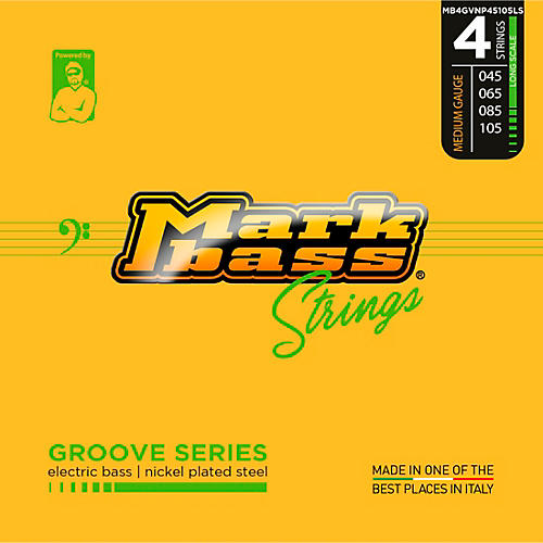 Markbass Groove Series Electric Bass Nickel Plated Steel Strings