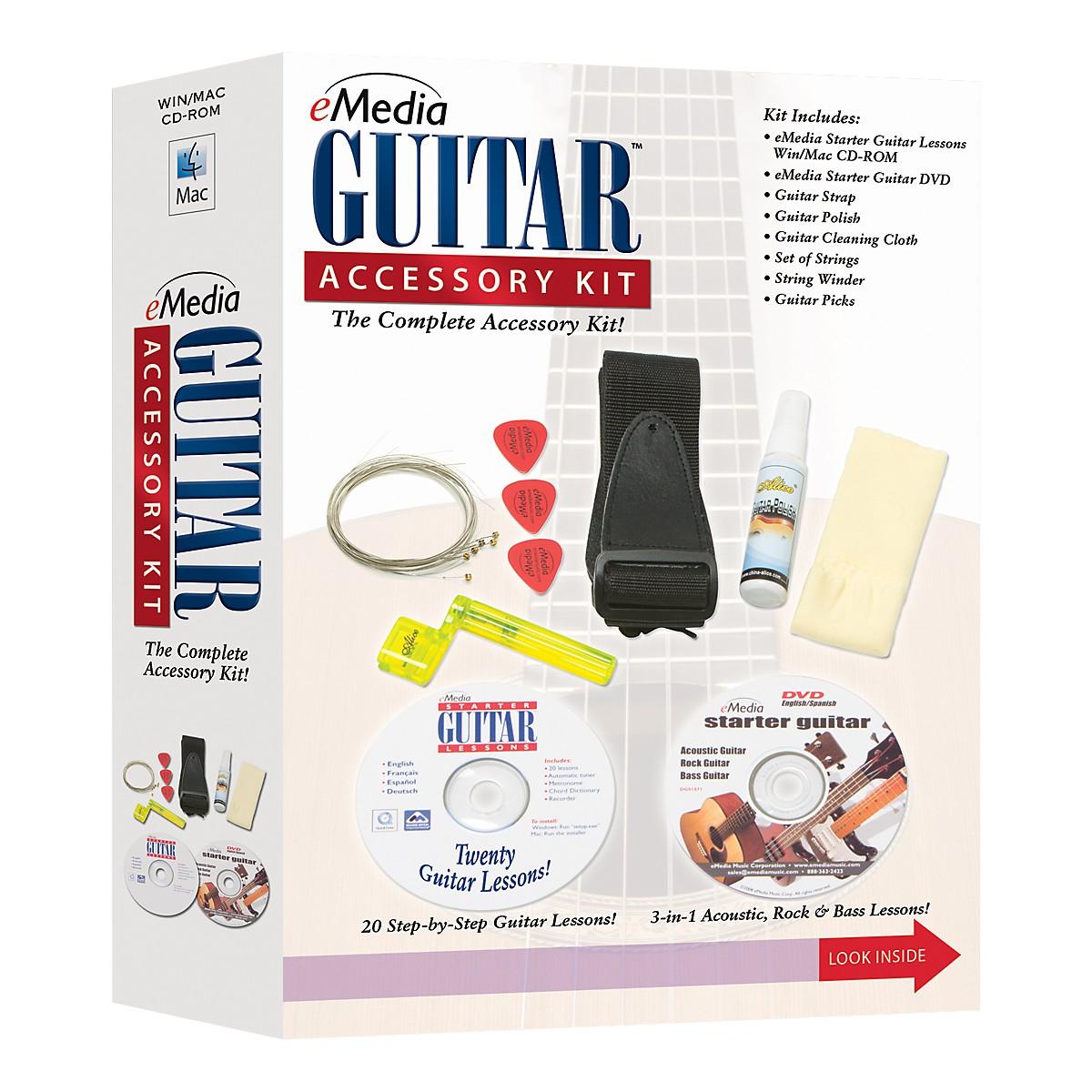 eMedia Guitar Accessory Kit