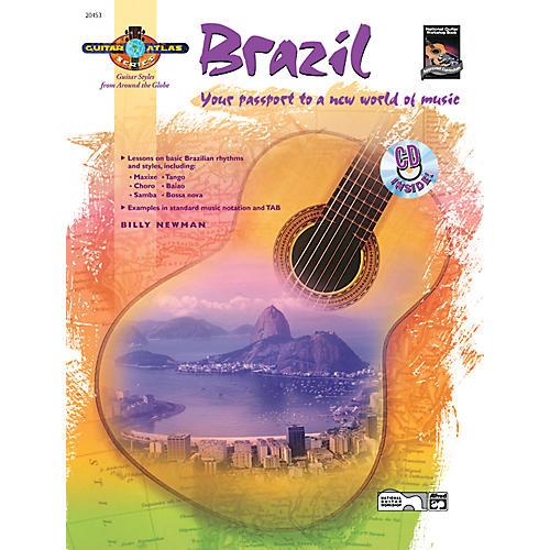 Alfred Guitar Atlas: Brazil (Book/CD)