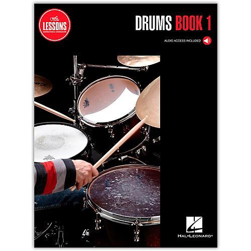 GC STUDIOS Guitar Center Lessons Drums Curriculum Book 1 (Book/Online Audio)