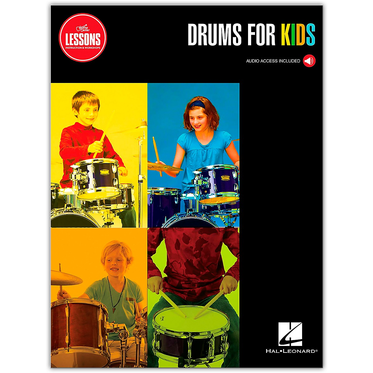 Guitar Center Guitar Center Lessons Drums for Kids Curriculum Book (Book/Online Audio)