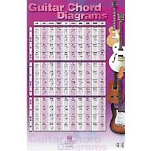 """Hal Leonard Guitar Chord Diagrams Poster 22"""" x 34"""""""
