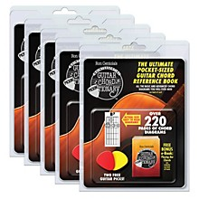 CSI Guitar Chord Pickin'Tionary 5-Pack (Clamshell with 2 Picks and Mini Chord Book) Book Series Softcover