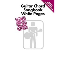 Hal Leonard Guitar Chord Songbook White Pages