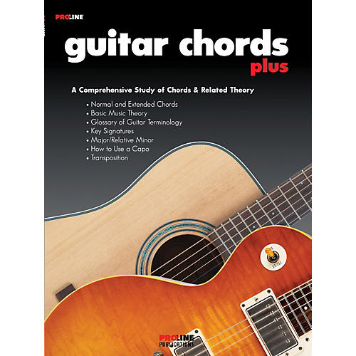 Proline Guitar Chords Plus Book