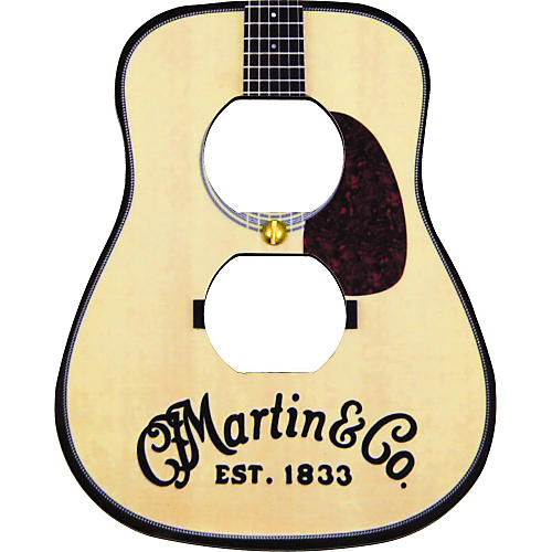 Martin Guitar D28 Outlet Cover Plate