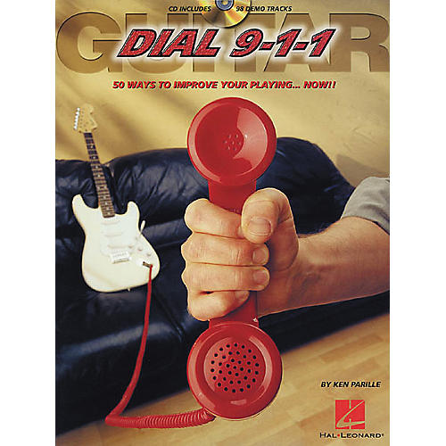 Hal Leonard Guitar Dial 9-1-1 (Book/CD)