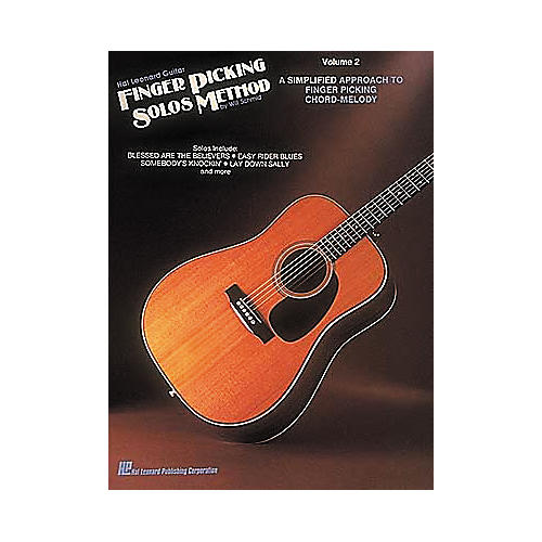 Hal Leonard Guitar Finger Picking Solos Method Volume 2 Book