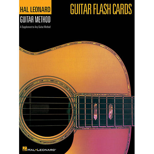 Hal Leonard Guitar Flash Cards (Hal Leonard Guitar Method) Guitar Method Series Softcover Written by Various Authors