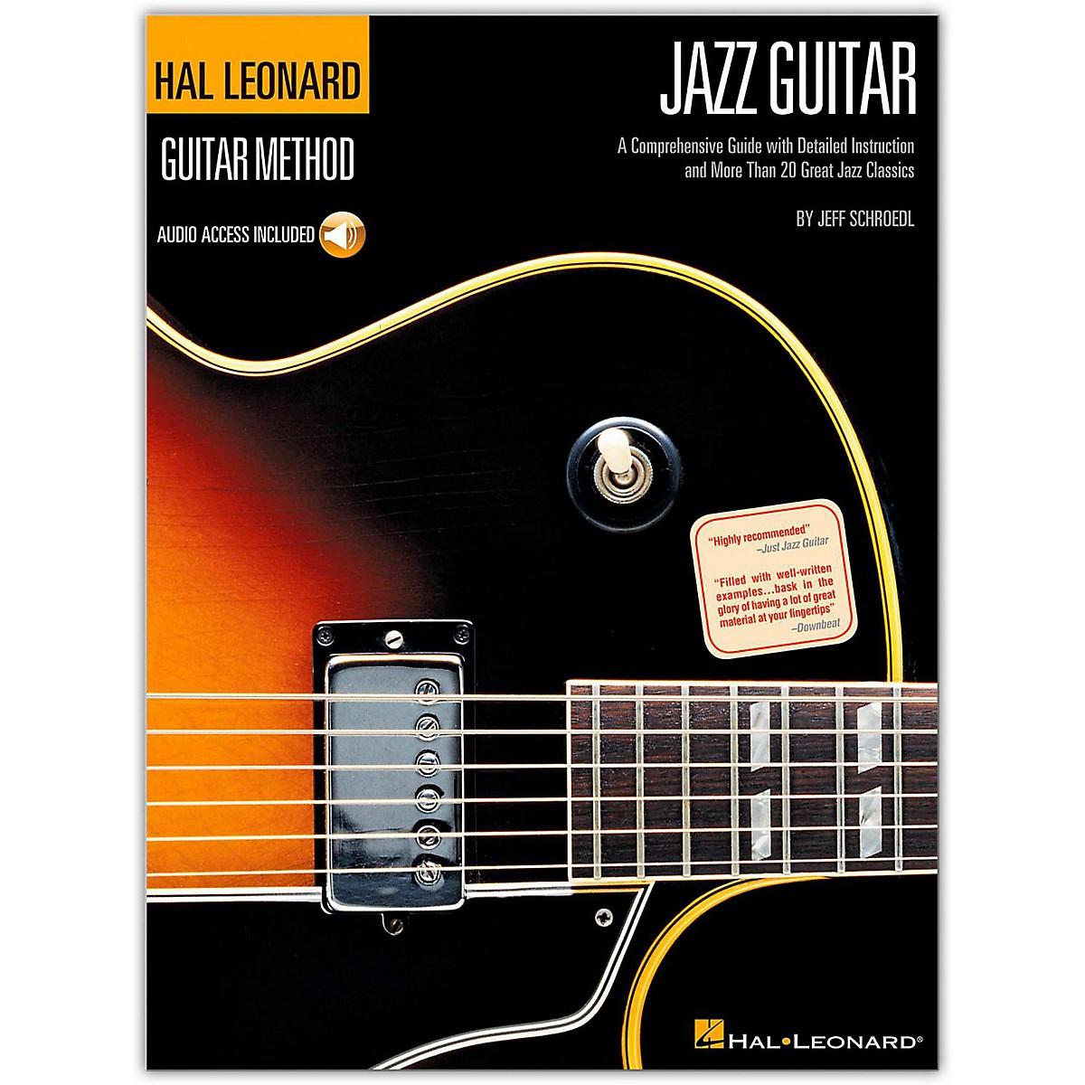 Hal Leonard Guitar Method-Jazz Guitar (Book/Online Audio)