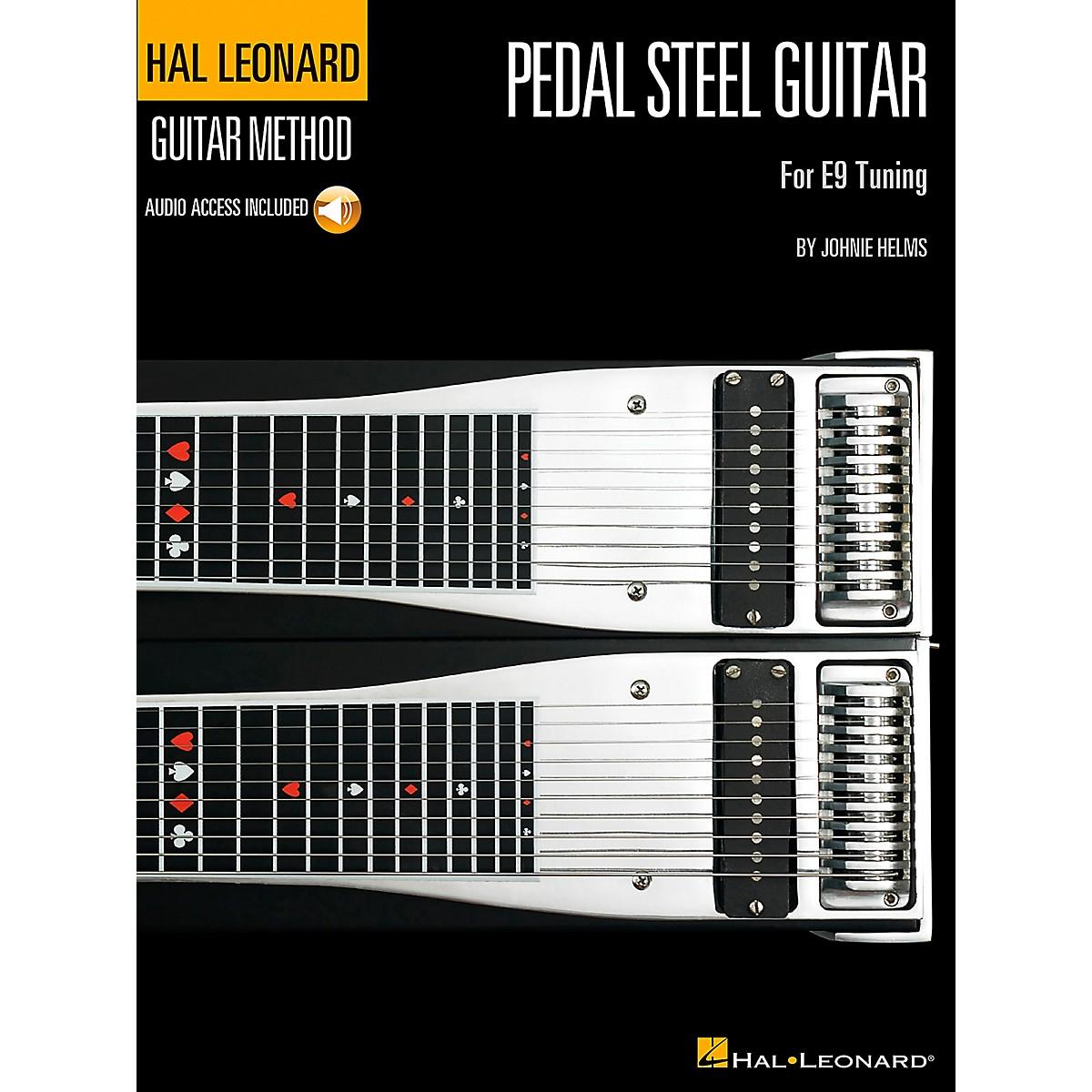Hal Leonard Guitar Method Pedal Steel Guitar Book/CD for E9 Tuning